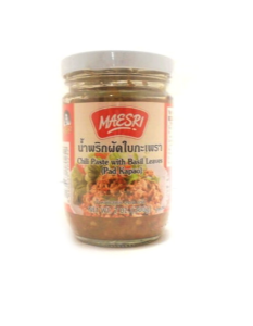 Chilli Paste With Holy Basil Leaves | Buy Online at the Asian Cookshop
